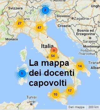 Mappa dei docenti capovolti